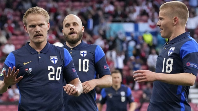 Finlandiya ilk şutunda bulduğu golle kazandı