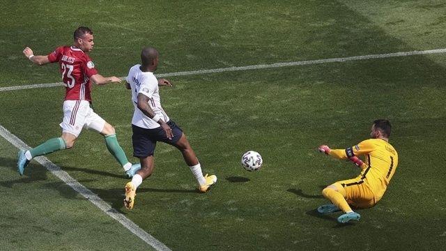 Fransa ile Macaristan 1-1 berabere kaldı