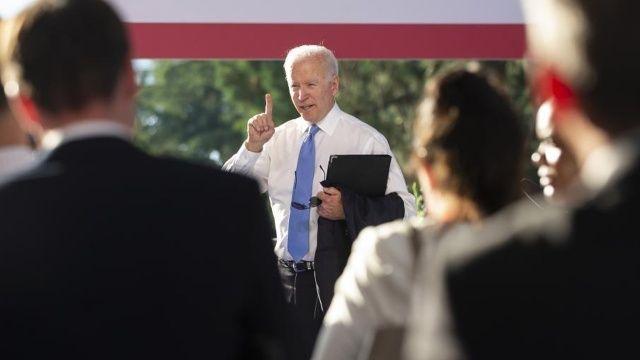 Joe Biden muhabiri önce azarladı sonra özür diledi