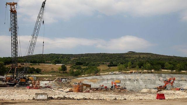 Kanal İstanbul'un temeli için hazırlıklar tamam