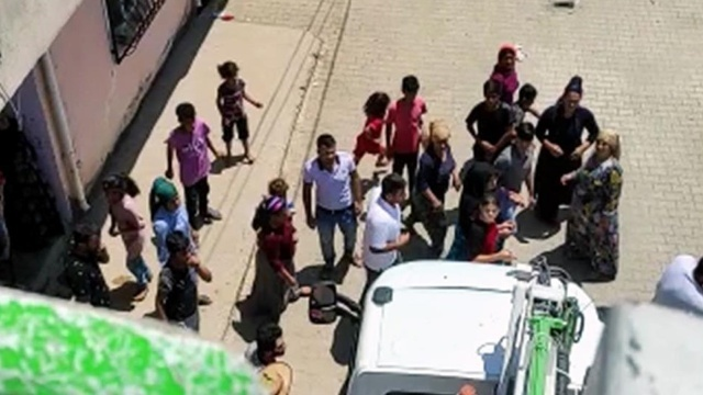 Mardin'de kaçak ihbar ekibini hastanelik ettiler