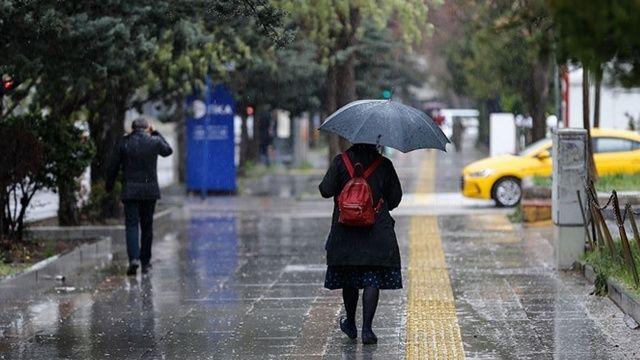 Meteoroloji'den 6 bölge için yağış uyarısı