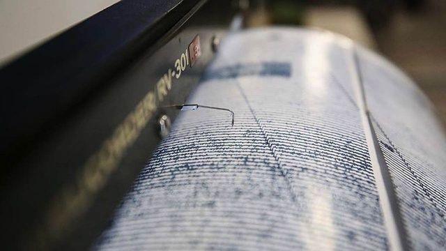 Muğla'da 4.1 şiddetinde deprem