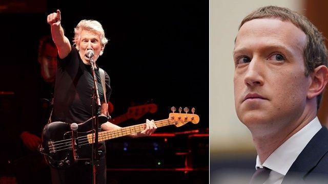 Roger Waters'tan Mark Zuckerberg'e büyük şok