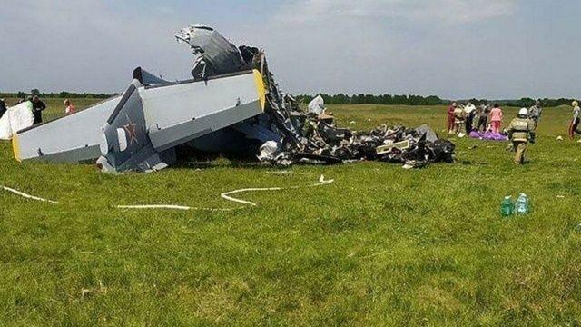 Rusya'da paraşütçüleri taşıyan uçak düştü
