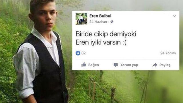 Şehit Eren Bülbül'ün paylaşımının üzerinden 4 yıl geçti