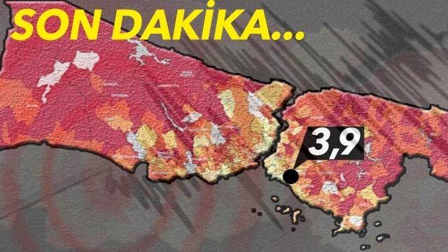 Son dakika! İstanbul'da deprem korkuttu | Son depremler