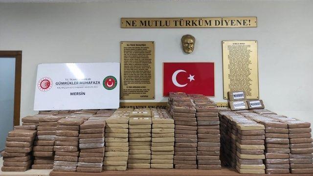 Tarihin en büyük kokain operasyonu: Mersin'de ele geçirildi