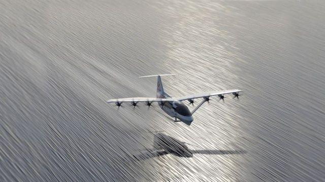 Uçan taksilerden sonra uçan feribotlar kullanılacak