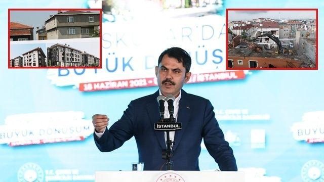 Erdoğan 'eylem yapın' demişti; Üsküdar'da kentsel dönüşüm başladı