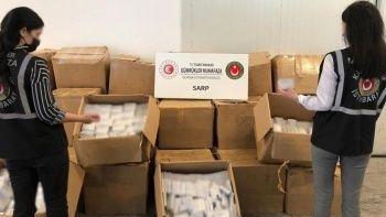 20 bin kutu kırmızı reçeteli ilaç ele geçirildi