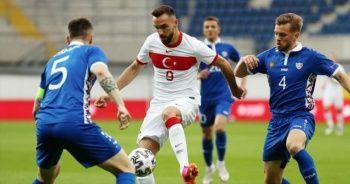 A Milli Takım, Moldova'yı 2-0'la geçti