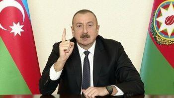 Aliyev'den Ermenistan'a çağrı: Barış için hazırlık yapmalıdır