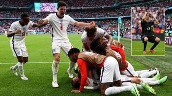 Almanya'yı deviren İngiltere çeyrek final biletini kaptı