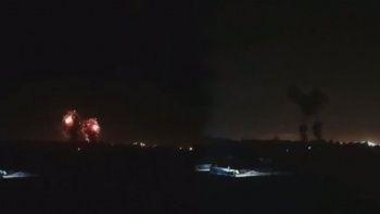 Ateşkese rağmen İsrail Hamas'ı savaş uçaklarıyla vurdu