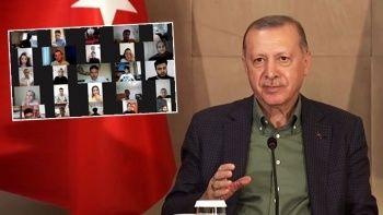 Babalar Günü'nde Cumhurbaşkanı Erdoğan'ı duygulandıran soru