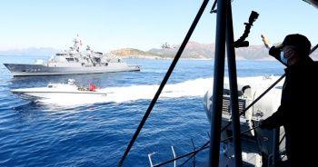 Bakan Akar, 'Denizkurdu 2021 Tatbikatı'nda