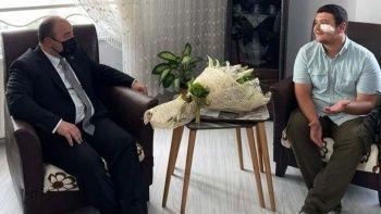 Bakan Mustafa Varank'tan saldırıya uğrayan İHA muhabirine ziyaret
