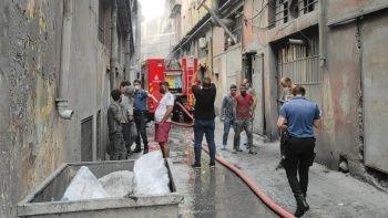 İmalathanede patlama: 3 işçi yaralı