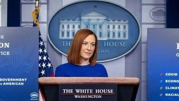 Beyaz Saray'dan Reisi'ye sert karşılama