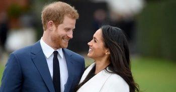 Buckingham Sarayı'ndan Prens Harry ve eşine tebrik mesajı
