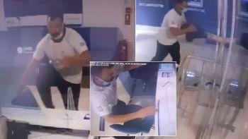 Bursa'da banka soygunu: Hırsız tuzağa düştü