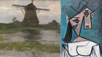 Çalınan Picasso ve Pita tabloları 9 yıl sonra bulundu