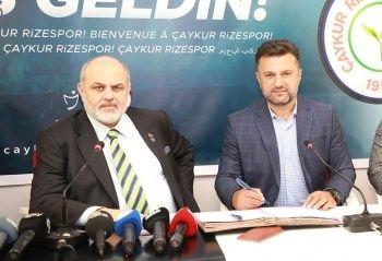 Çaykur Rizespor, Bülent Uygun ile 3 yıllık sözleşme imzaladı
