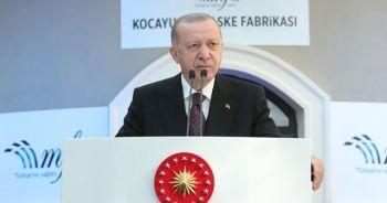 Cumhurbaşkanı Erdoğan: Çiftçilerimizin borçlarını erteliyoruz