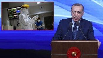 Cumhurbaşkanı Erdoğan'dan aşı ve vaka sayısı çağrısı