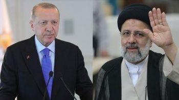 Erdoğan'dan İran Cumhurbaşkanı Reisi'ye tebrik