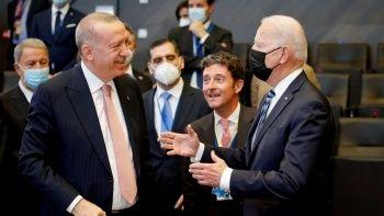 Cumhurbaşkanı Erdoğan'la Joe Biden görüşmesinde ters köşe