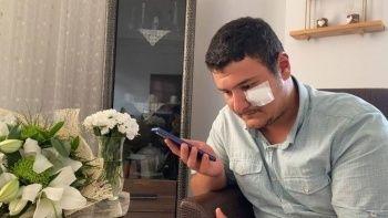 Altun, saldırıya uğrayan İHA muhabiri ile telefonda görüştü