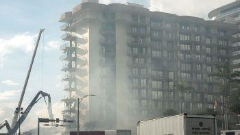 Florida'da bina çöktü! 156 kişiden haber yok