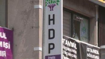 HDP İzmir İl binasında silahlı saldırı: 1 kişi öldü