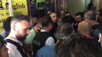 HDP saldırganı ile polisin ilk diyaloğu kamerada