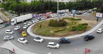 Kuyumcukent'teki kavşak çalışmasına tepki