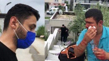 İHA muhabirine saldıranların pişkin halleri kamerada