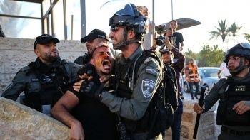 İşgalci İsrail yine saldırdı