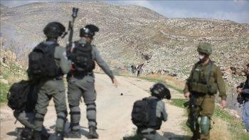 İsrail askerleri ateş açtı bir Filistinli yaralandı