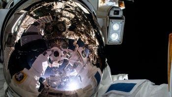 ISS'de uzay yürüyüşü