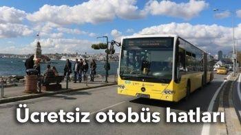 İstanbul'da ücretsiz İETT hatları ve otobüsleri