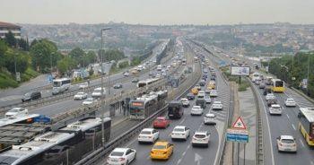 İstanbulluların çilesi! Kısıtlama sonrası trafik