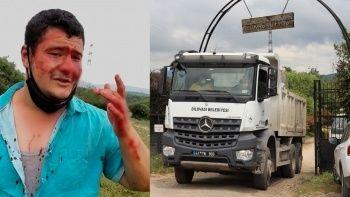 İYİ Partili Lütfü Türkkan'ın korumalarından İHA muhabirine çirkin saldırı