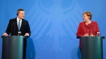 Merkel ve Draghi: Türkiye olmadan ilerleyemeyiz