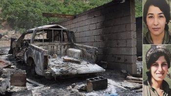 MİT'ten PKK'ya nokta operasyon: PKK'lı Mahiye Açık ve Roha Raci öldürüldü