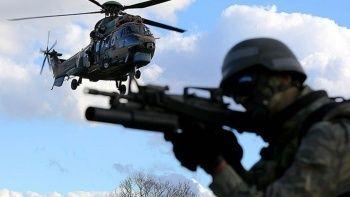 PKK'ya bir pençe darbesi daha! 5 terörist etkisiz hale getirildi