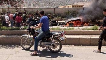 PKK/YPG Afrin'de sivillere saldırdı! Ölü ve yaralılar var