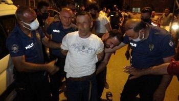 Sokak ortasında intihar: Polis önledi
