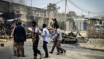 Somali'de askeri kampa intihar saldırısı: 15 ölü